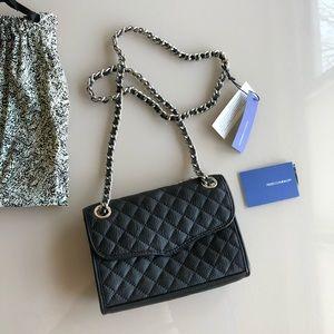 Rebecca Minkoff Quit Mini Affair Bag Black New